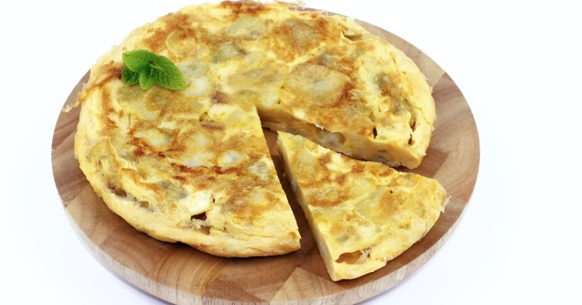 Španielska omeleta, fotogaléria 1 / 1.