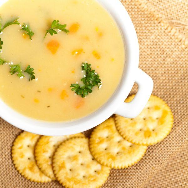 Jemná zemiaková polievka |