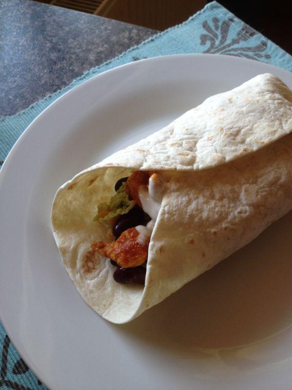 Fajitas  plnené tortilly |