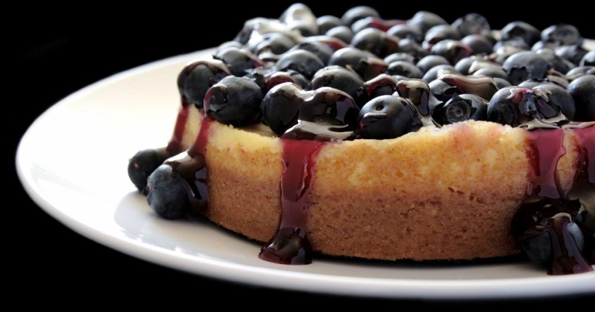 Čučoriedkový cheesecake s ricottou, fotogaléria 1 / 1.