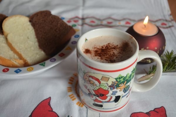 Kakao s bohatou penou |
