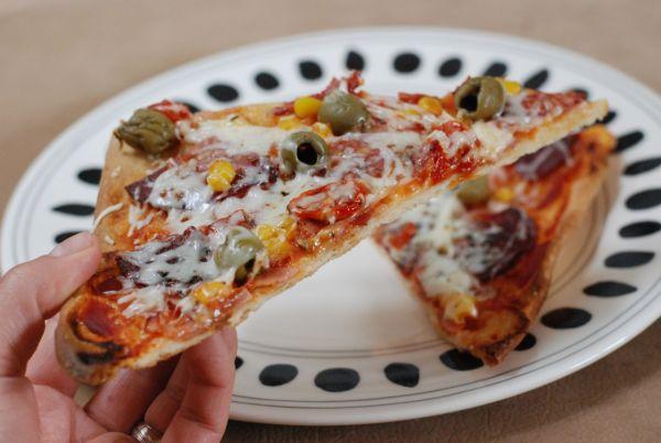 Super chrumkavá špaldová pizza |
