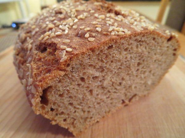Rýchly špaldový chlieb |