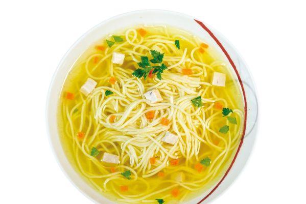Slepačia polievka s rezancami |