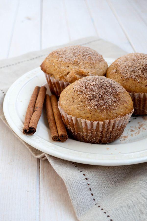 Škoricové muffiny plnené Nutellou |