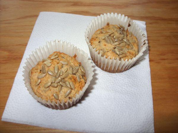 Špaldové muffiny so zázvorom |