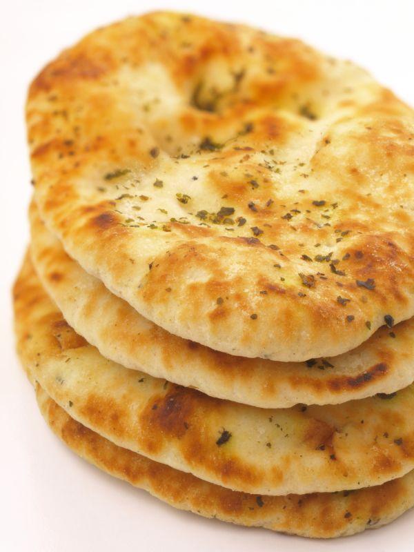 Naan  indický chlieb |