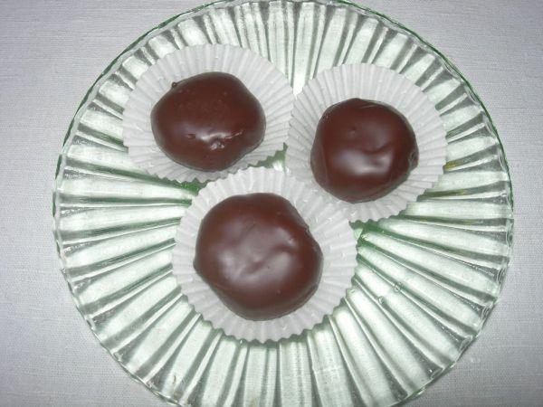 Hrozienkové cukrovinky s orechami |