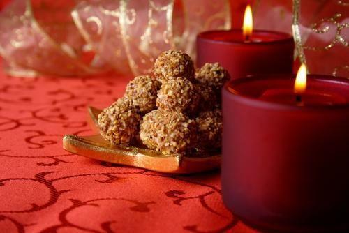 Vianočné čokoládové guličky |