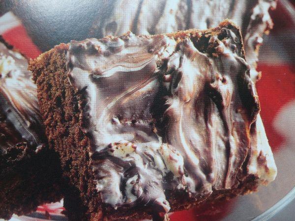 Mramorové čokoládové kocky |