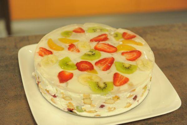 Studený ovocný koláč |
