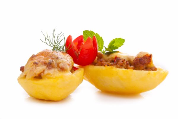 Zapekané plnené zemiaky |