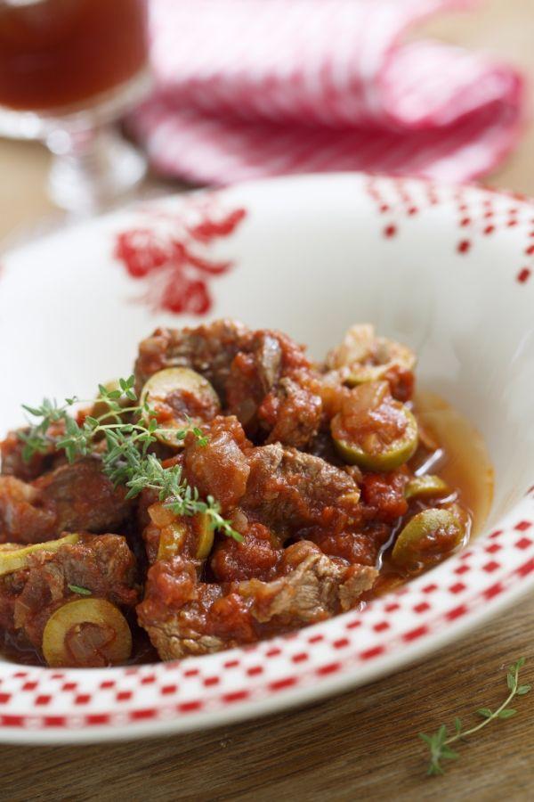 Diabolská olivová zmes s mäsom |