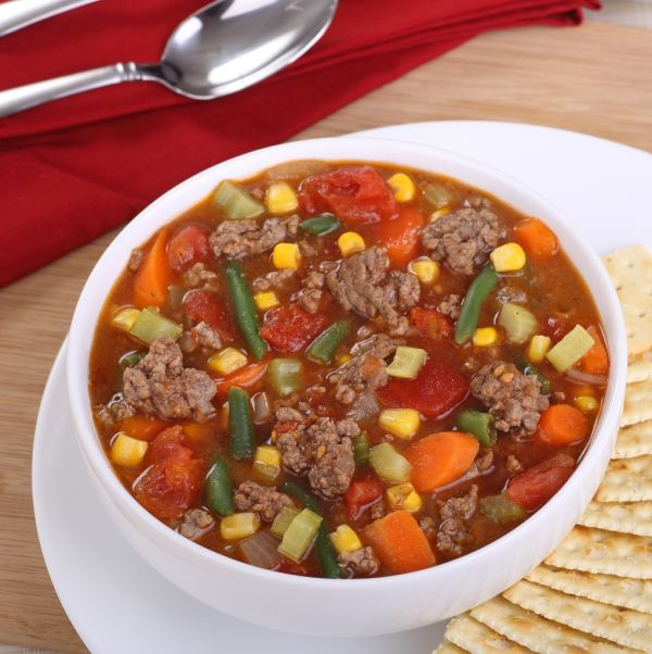 Obličková polievka so zeleninou |