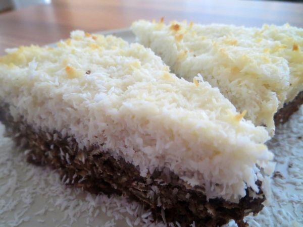 Slnečnicový koláč s kokosom |