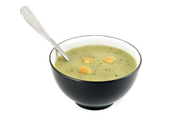 Špenátová polievka so zázvorom  