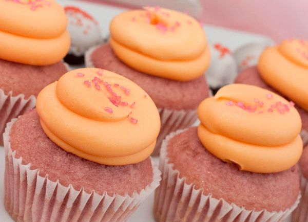 Cupcakes s cukrovou polevou |