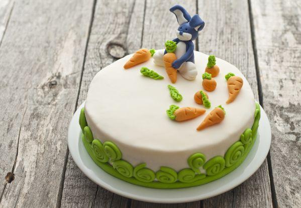Torta zajko s mrkvou |