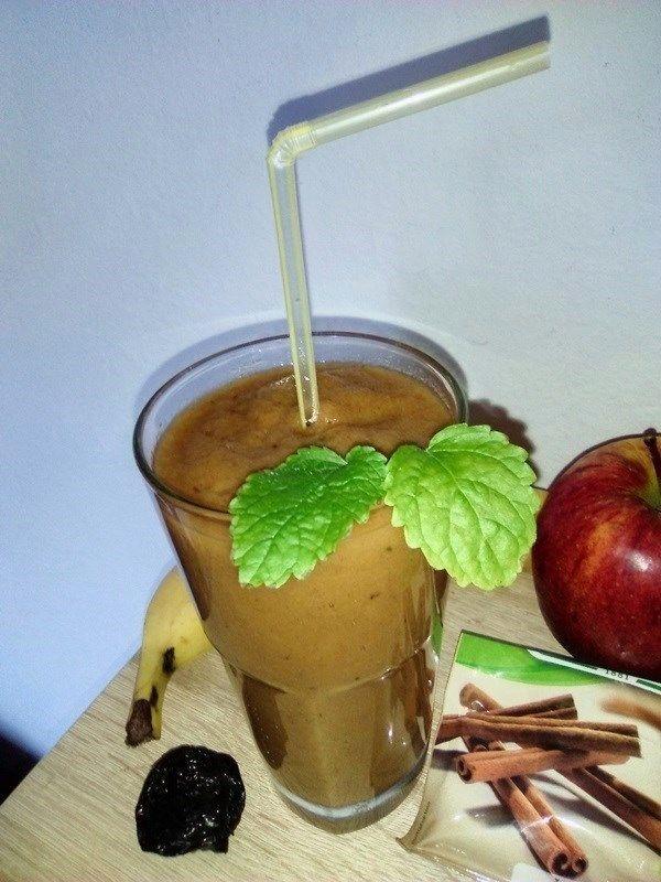 Jablkovo-slivkové smoothie |