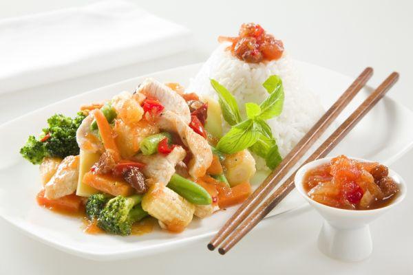Kuracie mäso vo woku |