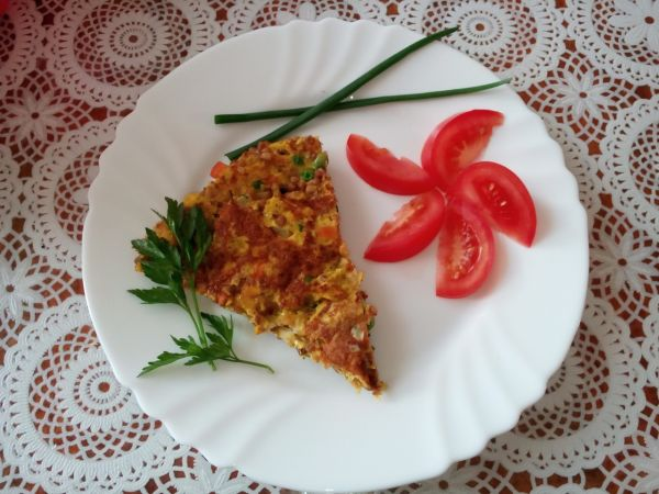 Omeleta s pohánkou |
