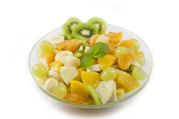 Ovocný šalát s mandarínkou |