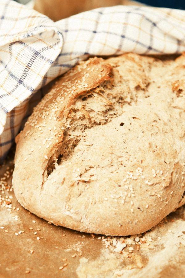 Jemný chrumkavý chlebík  