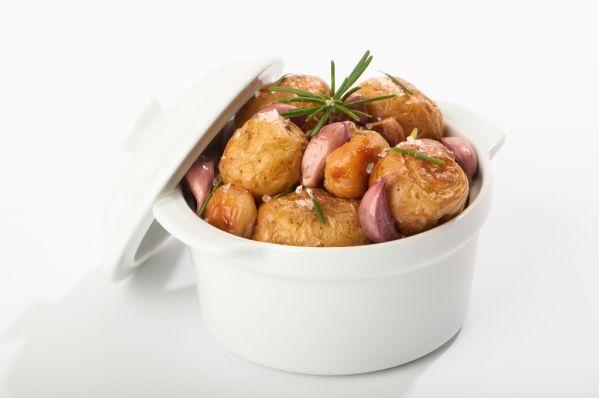 Zemiačiky s cesnakom |