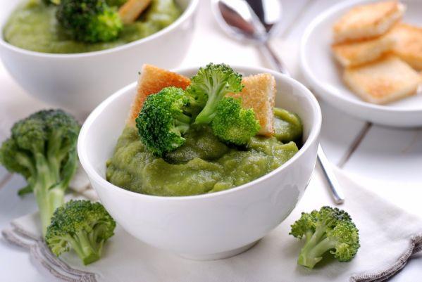 Ryžová nátierka s brokolicou |
