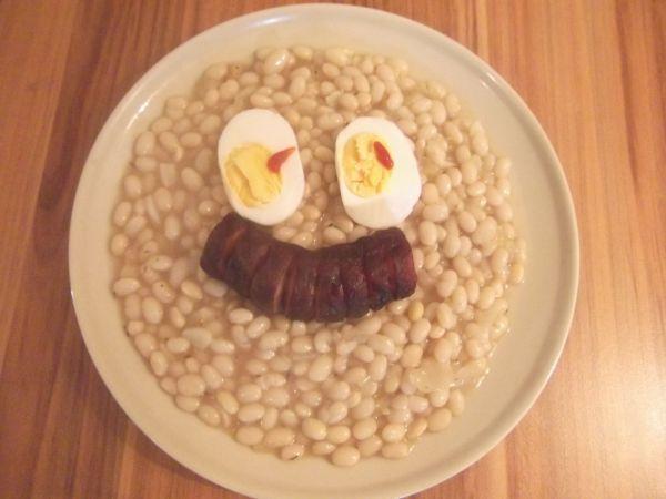 Biely fazuľový prívarok |