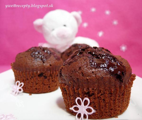 Čokoládové muffiny na MDD |