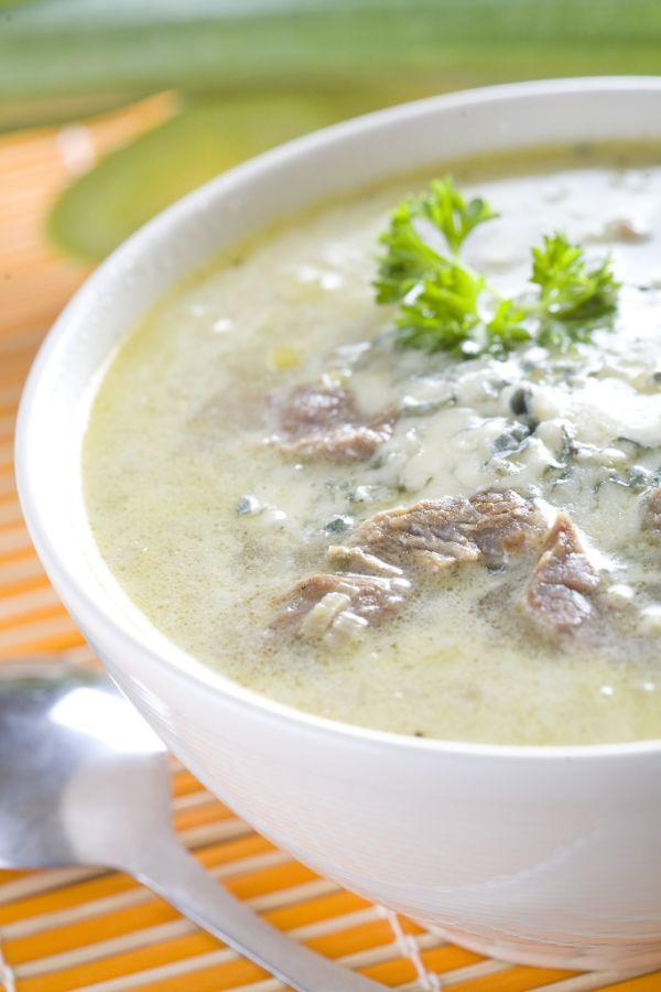 Talianska pórová polievka |
