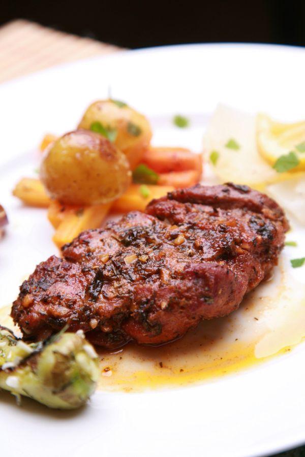 Marinované bravčové mäsko |