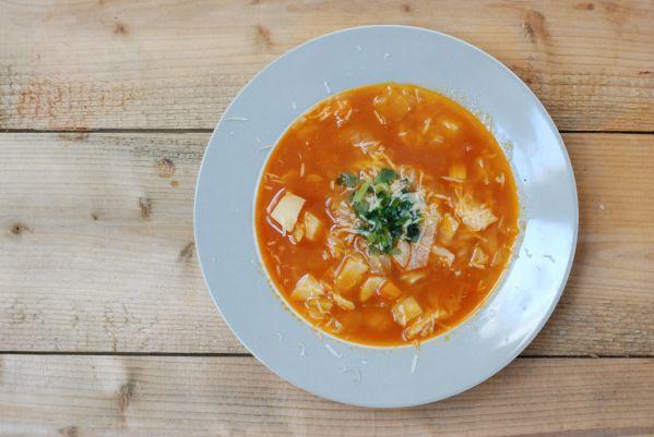 Fazuľová polievka a´la minestrone |