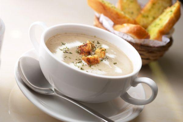 Krémová zemiaková polievka |