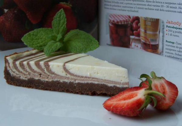 Mramorový cheesecake |