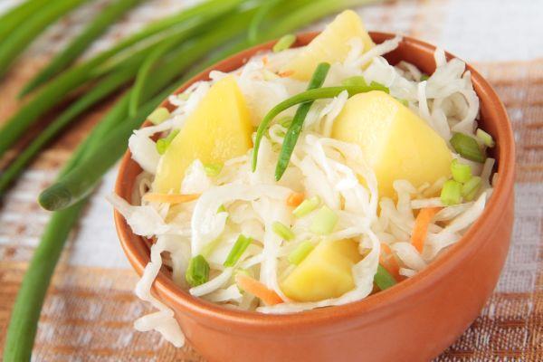 Letný zemiakový šalát z Jacoviec |