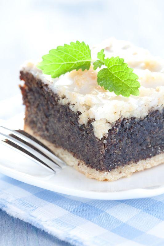 Krehký makový koláč  