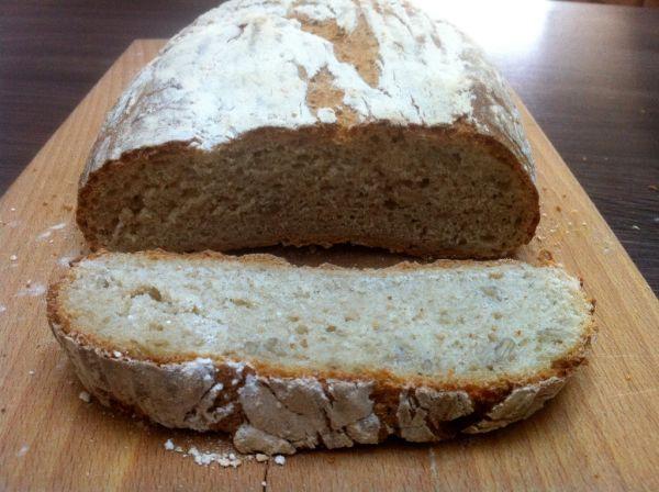 Špaldovo-ražný chlebík ako od babičky |