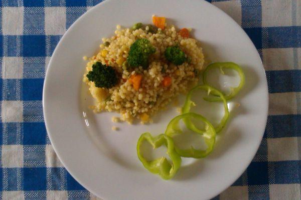 Tarhoňa so zeleninou |