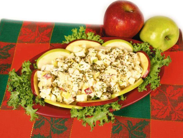 Zemiakový šalát s jablkami |