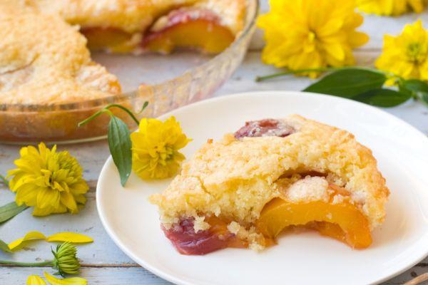 Ovocný koláč s posýpkou |