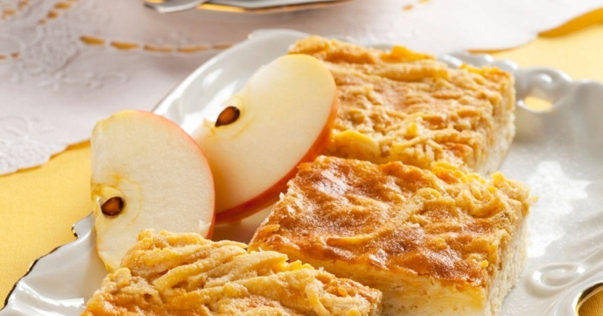 Jablkové rezy so šľahačkou, fotogaléria 1 / 1.