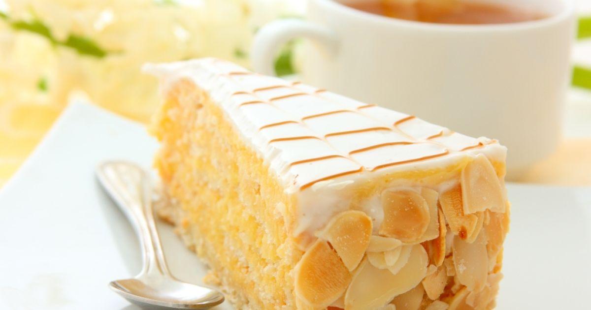 Vanilkovo-mandľová torta, fotogaléria 1 / 1.