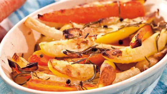 Pečená zelenina s cesnakom |