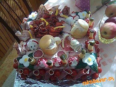 slana torta moja z prvych