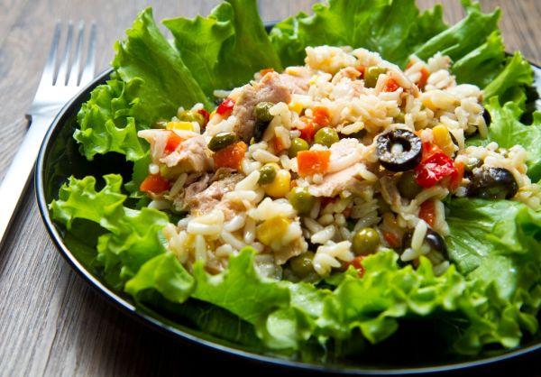 Zeleninovo-ryžový šalát |