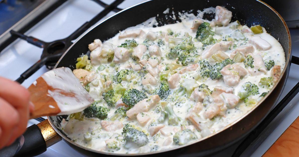 Kuracie soté s brokolicou a syrom, fotogaléria 1 / 1.