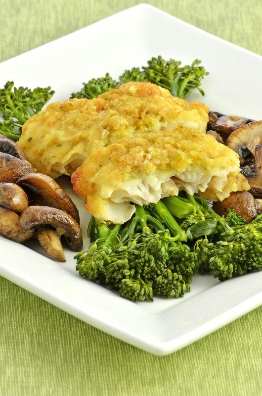 Zapečená treska s brokolicou |