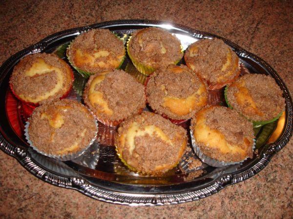 Škoricovo-jablkové muffiny |